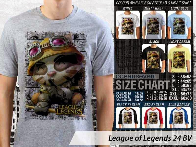 Kaos Game Online League of Legends 24 distro ocean seven