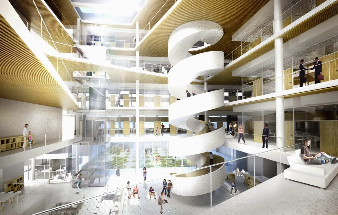 Dorte Mandrup Arkitekter wins School of Economics Competition