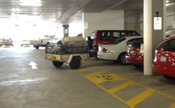 parking at Canberra Hospital