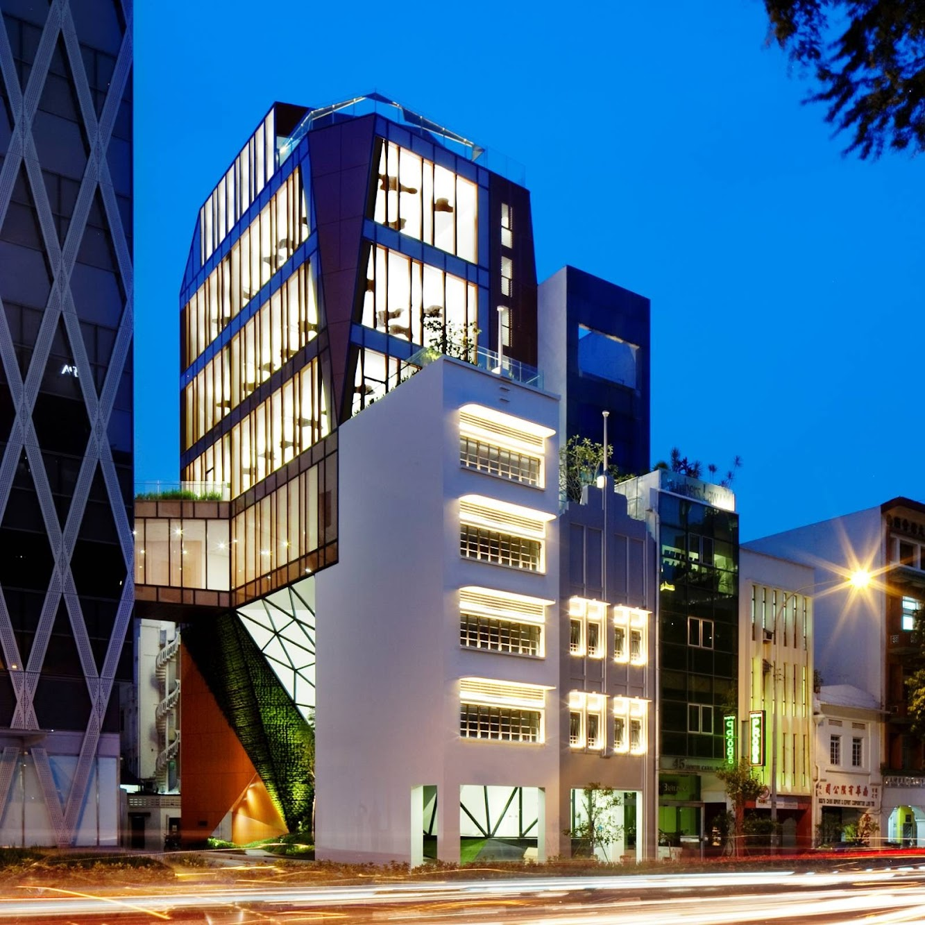 48 North Canal Road, Singapore: 48 North Canal Road by Woha
