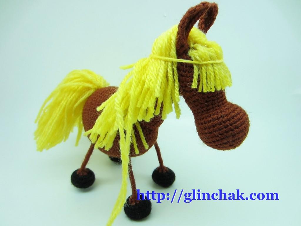 Как сделать лошадку из ткани фото 786