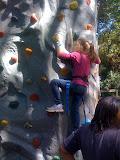 Rock climber...