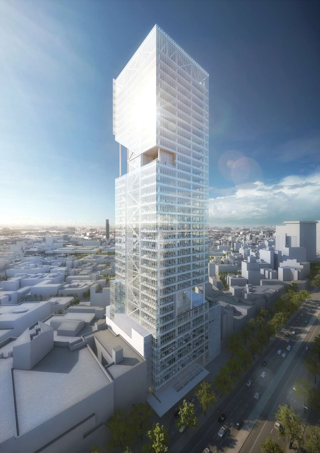Reforma Towers by Richard Meier Partners