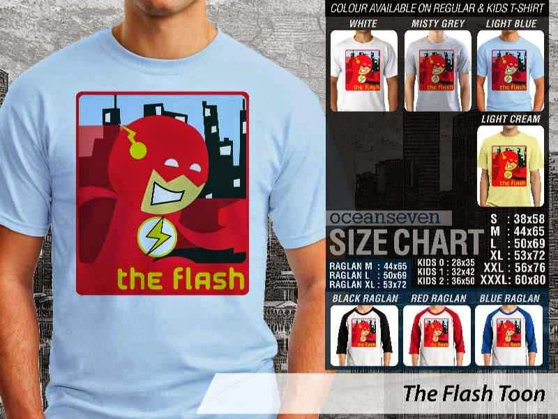 KAOS The Flash Amazing Superhero distro ocean seven