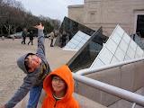 Kai and Eidan at the Smithsonian