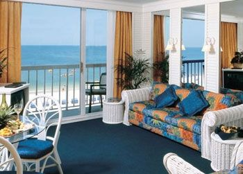 One of the rooms at Tradewinds St Pete Beach Hotels