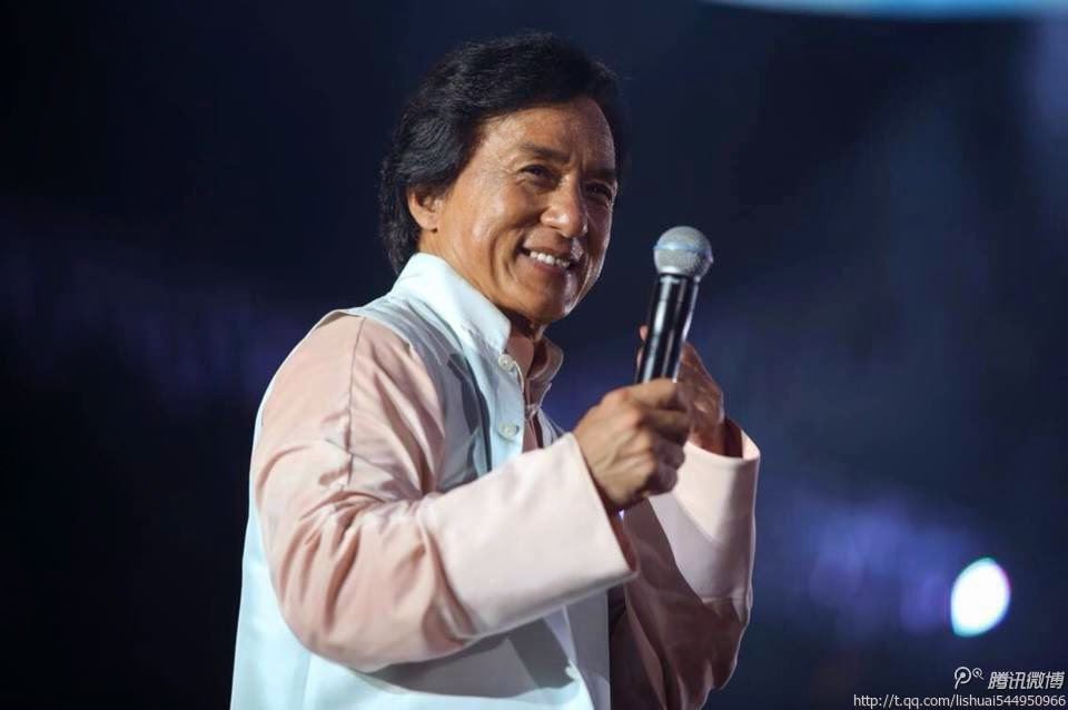 Best Music Awards LOVE Radio Sept 26 Jackie Chan was presented with 2 music awards at the Shanghais LOVE Radio Station Best Music Awards
