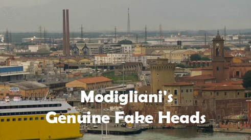 Trzy g³owy Modiglianiego / Modigliani's Genuine Fake Heads (2011) PL.TVRip.XviD / Lektor PL