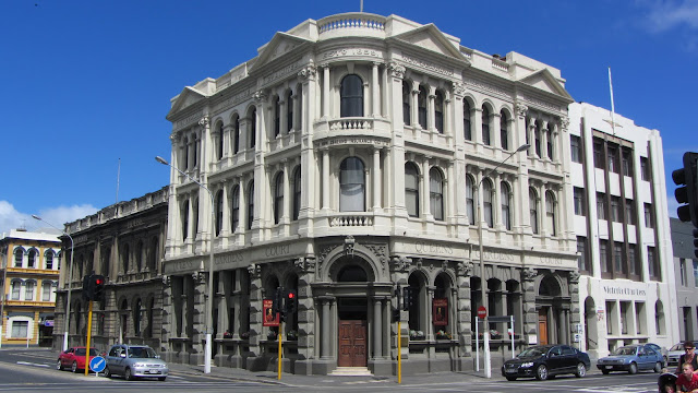 Classic architecture in old Dunedin.