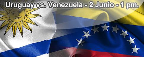 Uruguay vs Venezuela en VIVO - 2 Junio 2012