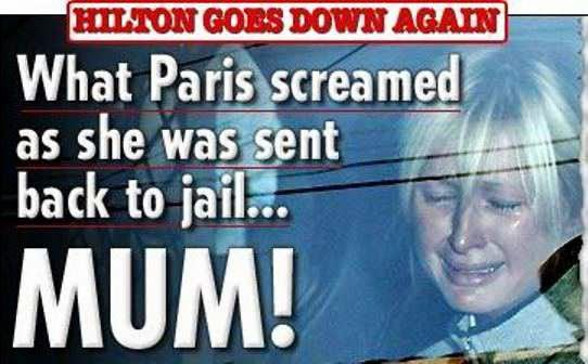 Famous Celebrities Who Have Been To Jail - Paris Hilton in 2007