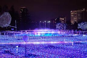 東京ミッドタウンのクリスマスイルミネーション「スターライトガーデン2014」