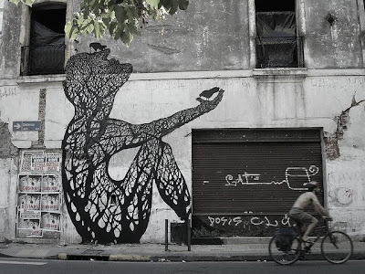 Street Art by Sam3 Seen On www.coolpicturegallery.us