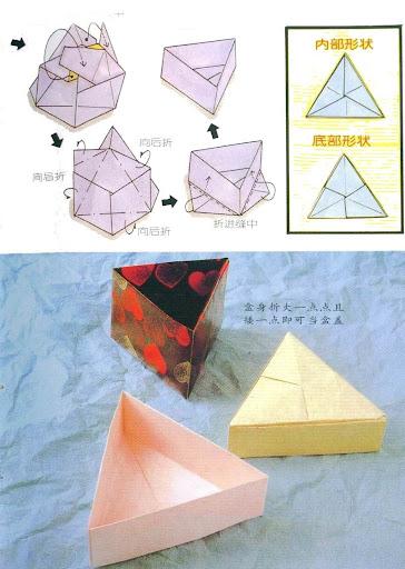 Как сделать из бумаги коробку модулями