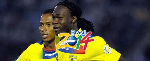Ecuador vs. Paraguay en Vivo - Eliminatorias 2014
