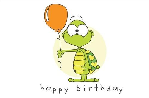 Поздравления с днём рождения от мультяшек