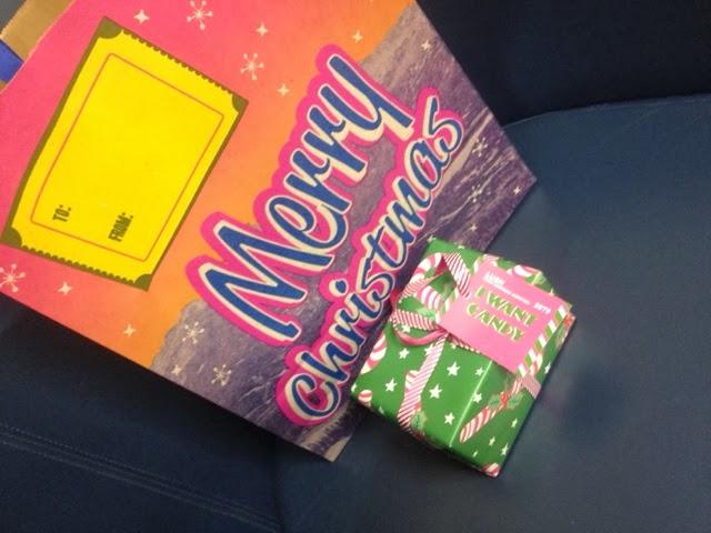 Lush Comsetics Christmas gift set