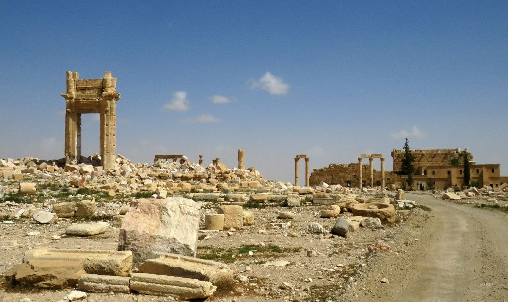 Recapture of Palmyra reveals more shattered antiquities