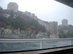 Istanbul - Bosophorus Cruise (forts on both sides of the sea)