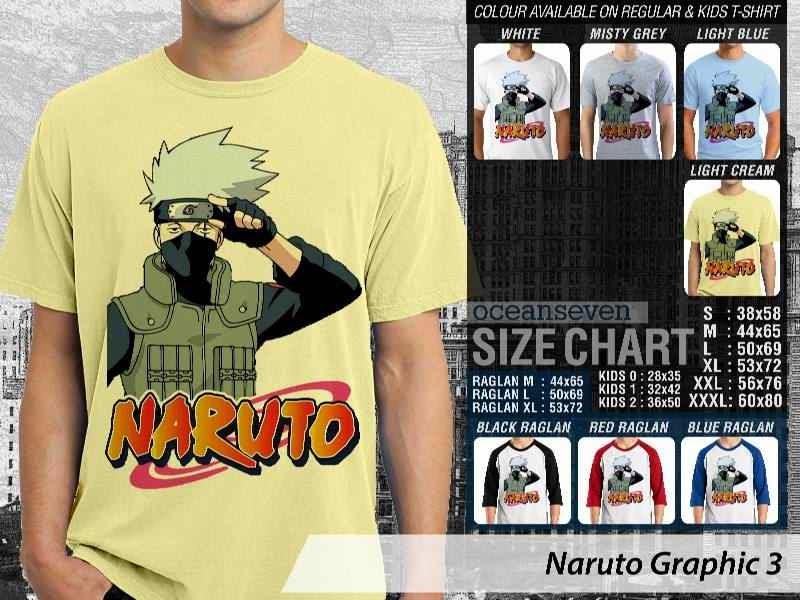 KAOS Naruto 3 Manga distro ocean seven