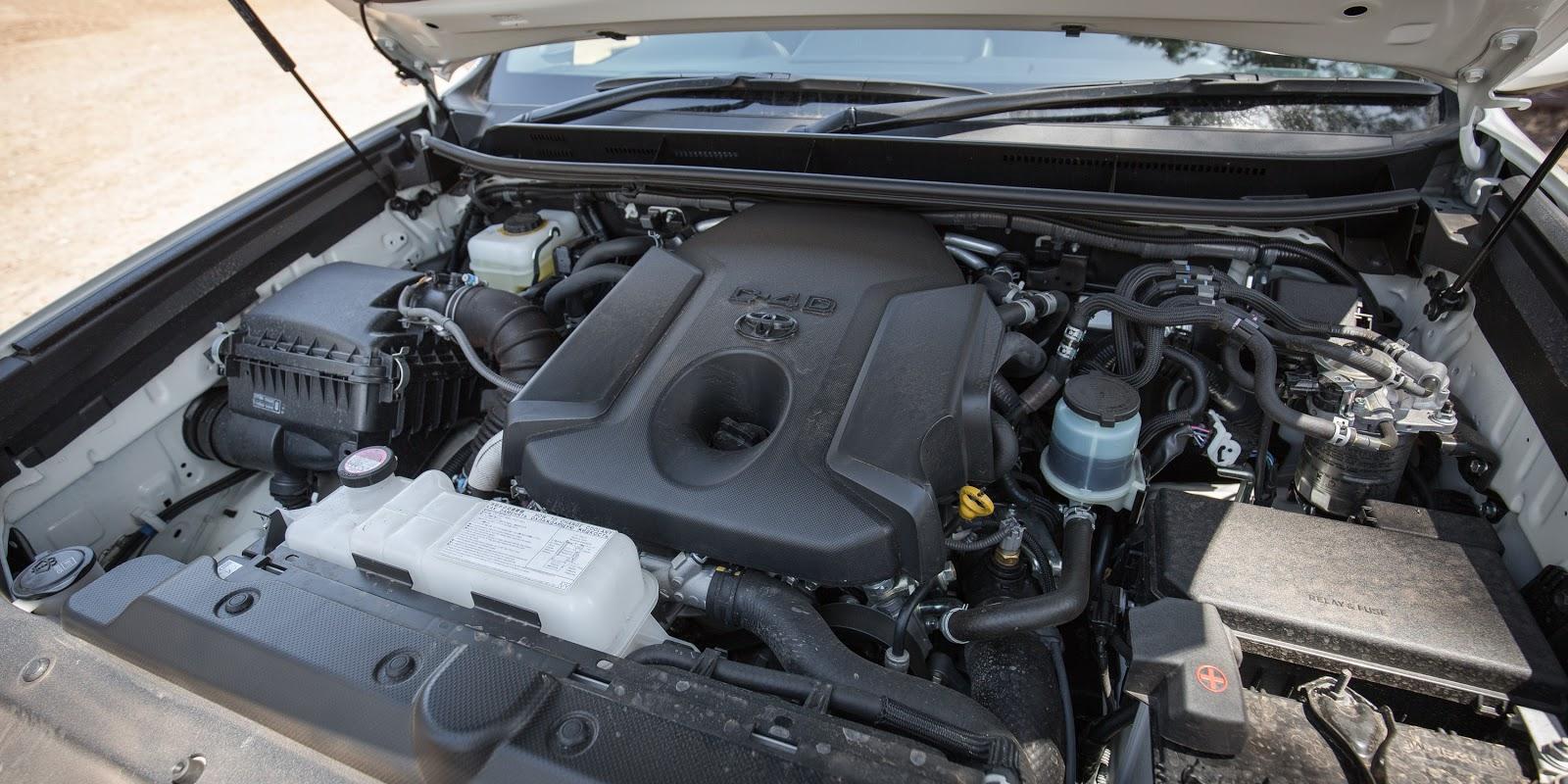 Phiên bản động cơ xăng sẽ mạnh hơn bản diesel, nhưng ngốn nhiên liệu hơn