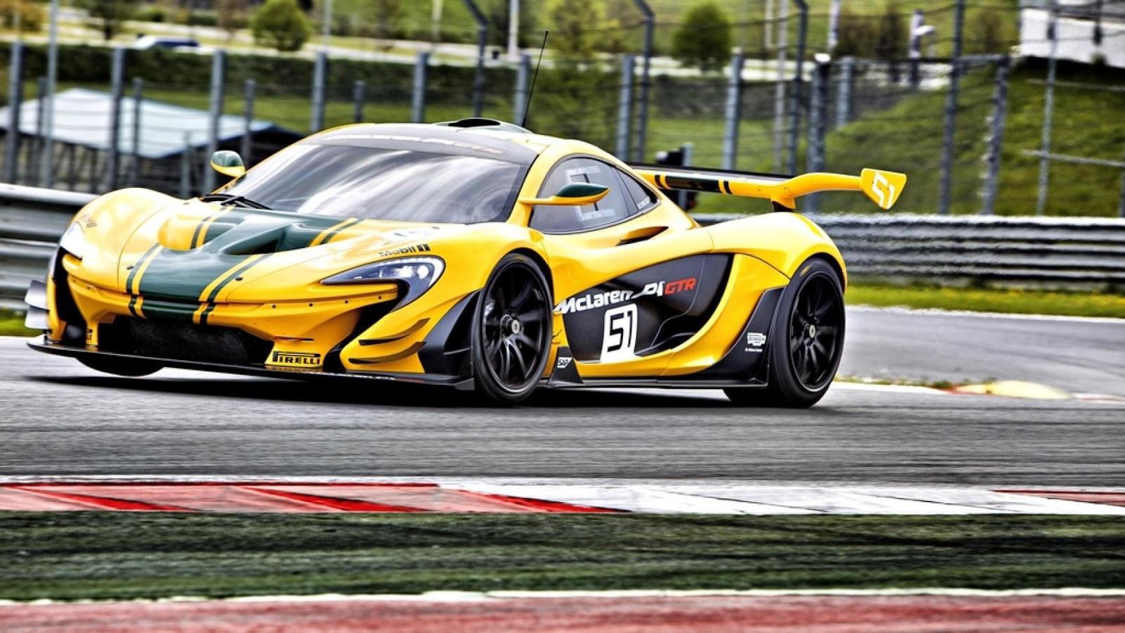 McLaren P1 GTR sức manh 985 mã lực