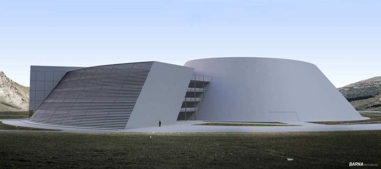 National Archaeological Museum of Mongolia by Barna Architects