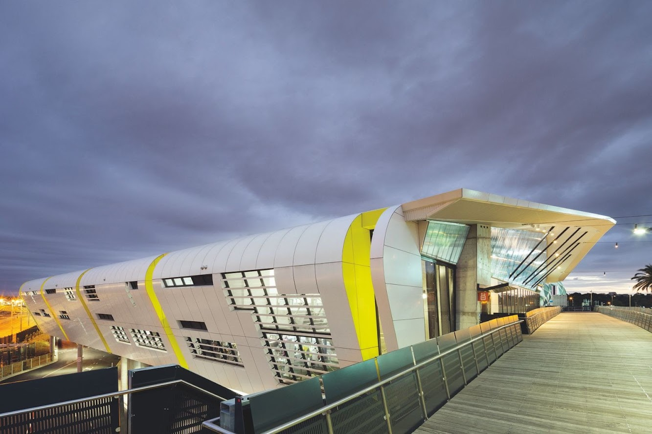 Melbourne Victoria, Australia: National Tennis Centre by Jackson Architecture