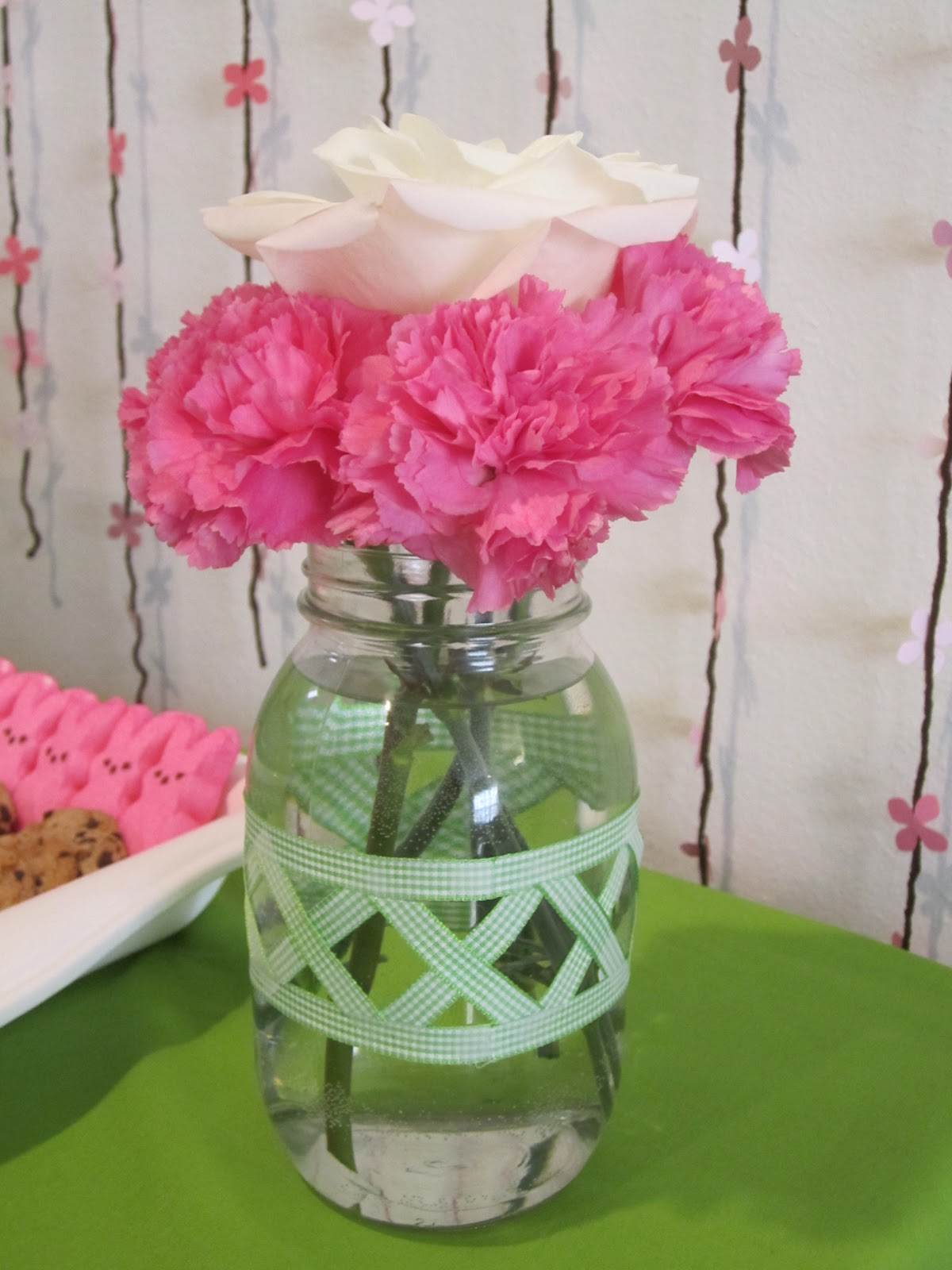 and Rose Centerpieces