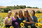 Women in Sunflowers (July 2011, WineInProvence)