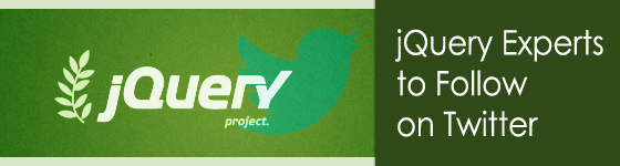 jQuery Experts to follow on Twitter