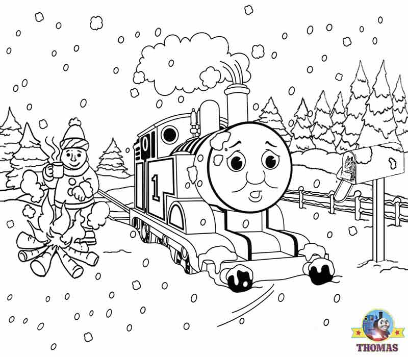 Christmas Coloring Pages for Toddlers, Preschool and