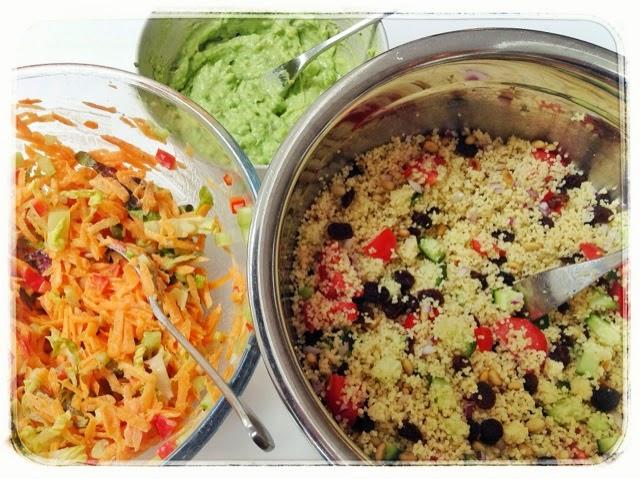 couscous salad, mean mother cooker