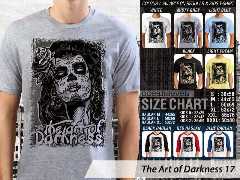 KAOS keren zombie The Art of Darkness 17 distro ocean seven