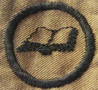 Girl Scout Badge 1917: Scribe. (Open Book) - DaisyLow.com Website designed in Memory of Eileen Alma Klos (1929-1974)