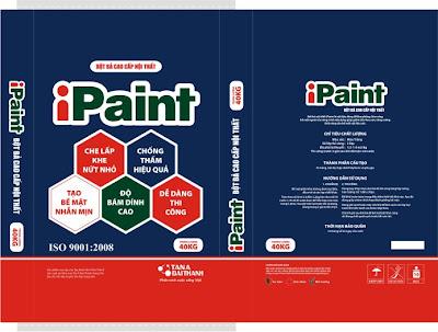 Bao bì iPAINT - sản xuất bởi Tân Đại Thịnh