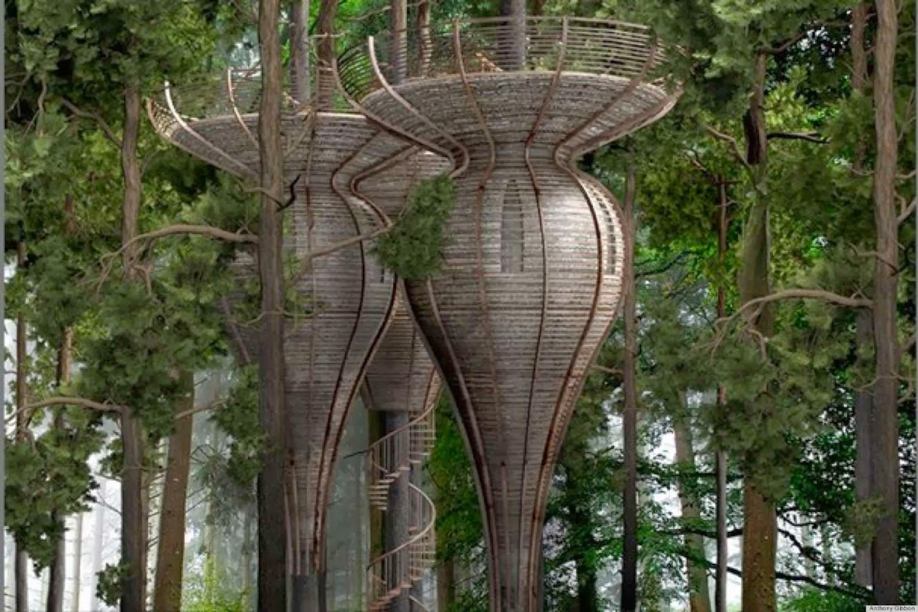 Roost Treehouse by Antony Gibbon Designs