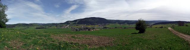 Ascension à Métabief dans le Jura