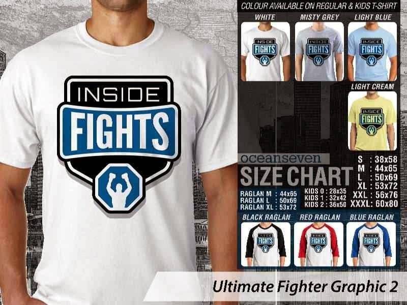 Kaos UFC Ultimate Fighter Inside Fights Graphic 2 distro