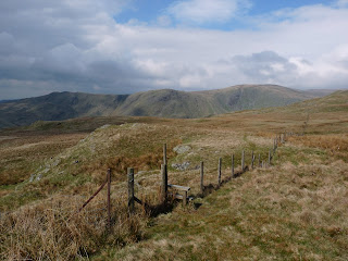 Looking to Kentmere from ascent of Grey Crag