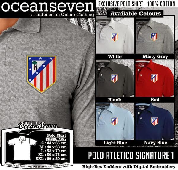 POLO Atletico Madrid Signature distro ocean seven