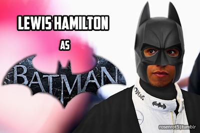 Льюис Хэмилтон Бэтмэн Batman by rosenrot5