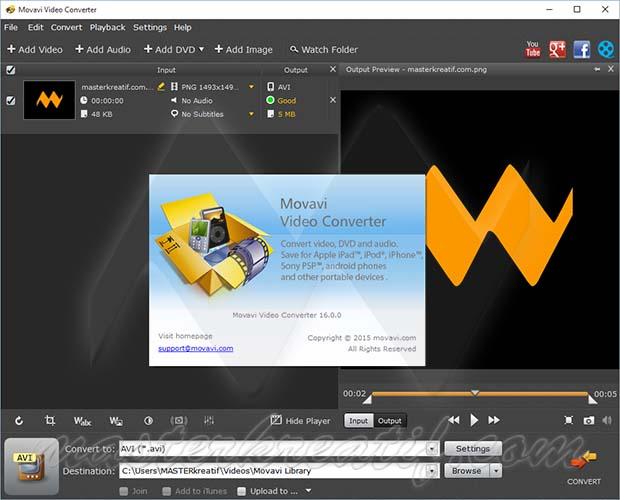 Movavi Video Converter 16