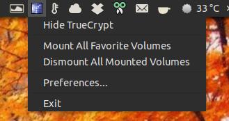 TrueCrypt Ubuntu AppIndicator