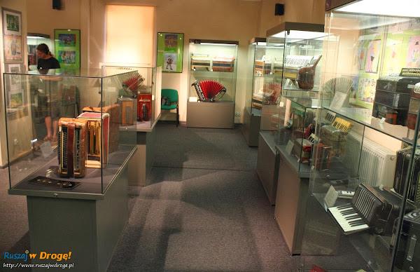 Muzeum Ziemi Kościerskiej - Muzeum Akordeonu