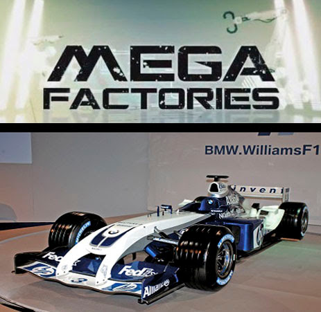 Megafabryki Williams F1 / Megafactories: Williams F-1 (2011) PL.TVRip.XviD / Lektor PL
