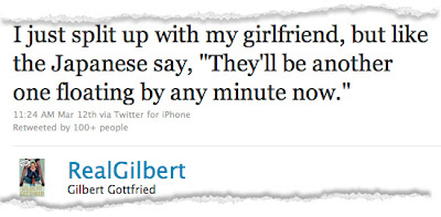 Gilbert Gottfried Fired