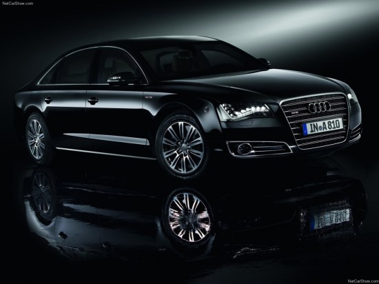 2012 Audi A8 L Security