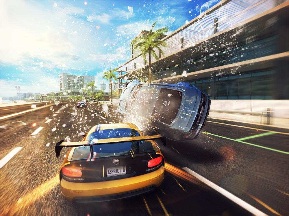 Hình ảnh đẹp mê ly của game đua xe Asphalt 8 - Ảnh 1