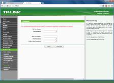 Konfigurasi password akses web router